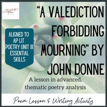 """A Valediction Forbidding Mourning"" Poem Study"