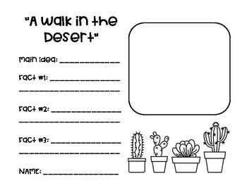 """A Walk in the Desert"" Reading Street"