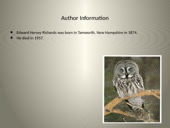 """""""A Wise Old Owl"""" PowerPoint Core Knowledge"""