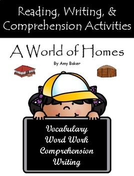 """""""A World of Homes"""" Guided Reading Program Work"""