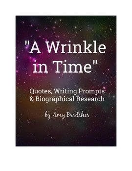 A Wrinkle In Time Quotes A Wrinkle in Time: