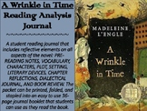 """A Wrinkle in Time"" Reading Analysis Journal"