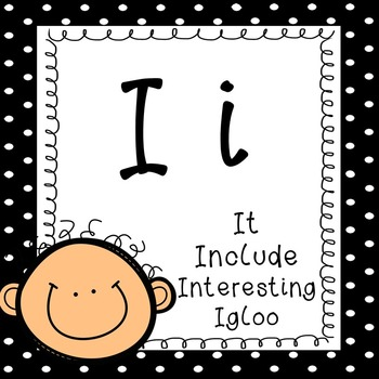 Alphabet Posters for Classroom with vocabulary words, classroom decor