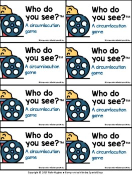 ¿A quién ves? (Who do you see? - For all languages!)