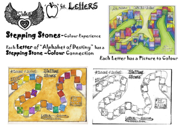"""A""-the LETTERS- STEPPING STONES"