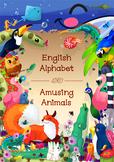 ♥ The English Alphabet. ABC Alphabet Animals (all 26 lette