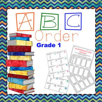 {ABC Order} Grade 1