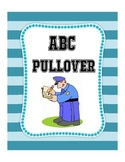 """""""ABC Pullover"""" Letter Identification and Writing Practice"""