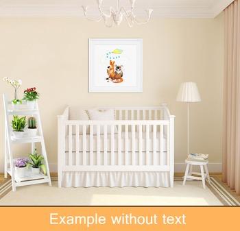 ♥ ABC  letter K. Classroom Poster Alphabet - Animals. English animals alphabet.