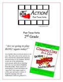 """ACTION!"" Past Tense Verbs Grade 2 Common Core Game Packet"