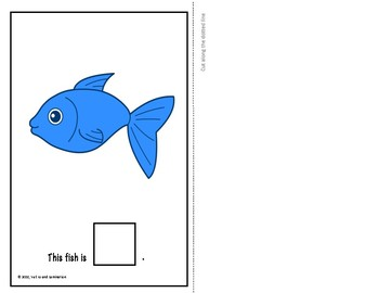 "{ADAPTED BOOK} ""Colorful Fish"" - Color Identification"