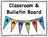 """""""ADDITION"""" Banner for Classrooms and Bulletin Boards"""