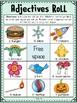 ADJECTIVES  Grammar Dice Game Activity