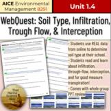 [AICE Environmental] 1.4 WebQuest - Infiltration Intercept