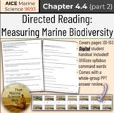 [AICE Marine] Directed Reading 4.4 (part 2) Measuring Mari