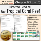 [AICE Marine] Directed Reading 5.2 (part 1): Tropical Cora