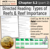 [AICE Marine] Directed Reading 5.2 (part 2): Reef Types, A