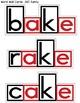 -AKE Word Family Print and Go