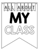 >> ALL ABOUT ME >> Pennant Banner