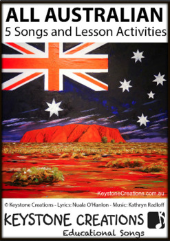 'ALL AUSTRALIAN' ~ MP3: 5 READ, SING & LEARN Along Curriculum-Aligned Songs