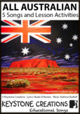 'ALL AUSTRALIAN' ~ MP3: 5 READ, SING & LEARN Along Curricu