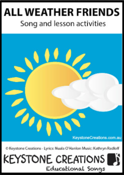 'ALL WEATHER FRIENDS' (Pre K-3) ~ MP3 Read, Sing & Learn about Friendship
