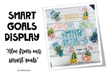 """ALOE from our smart goals"" Display"