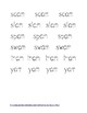 -AM Word Family Tracing