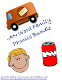 -AN Word Family Packet