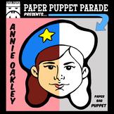 """ANNIE OAKLEY"" Paper Bag Puppet"