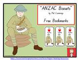 """ANZAC Biscuits""  Free bookmarks"