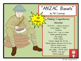 """ANZAC Biscuits"" - HOT reading comprehension activities"