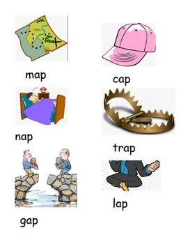 -AP word family dolch adjectives writing practice
