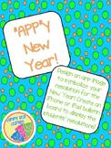 """""""APP""""y New Year"""
