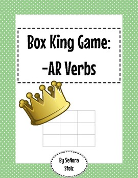 -AR Verb Box King Game