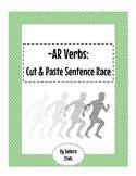 -AR Verb Cut & Paste Sentence Race