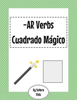 -AR Verbs Magic Square