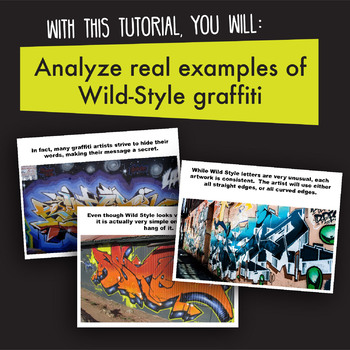 [ART ACTIVITY] Wild-Style Graffiti Drawings