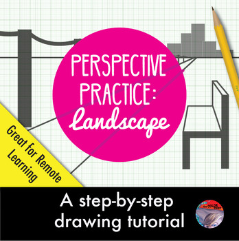 [ART LESSON] Perspective Practice: Drawing a Landscape