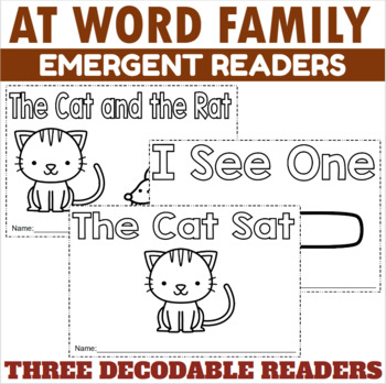 -AT Family Emergent Readers
