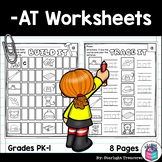 -AT Word Family FREEBIE Worksheets and Activities for Earl