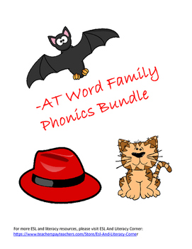 -AT Word Family Packet