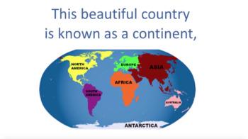 'AUSTRALIA' ~ MP4 Curriculum Karaoke™ READ, SING & LEARN Along Video