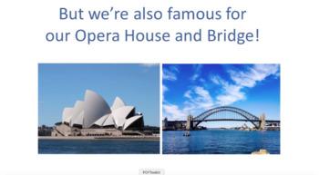 'AUSTRALIA' ~ MP4 Curriculum Karaoke™ READ, SING & LEARN Facts About Australia