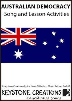 'AUSTRALIAN DEMOCRACY ~ MP3 Song & Lesson Materials (Grades 3-12)