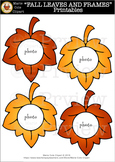 """FALL LEAVES AND FRAMES"" Printables [Marie Cole Clipart]"