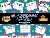 *AWARDS BUNDLE* Classroom End Term Awards! Perfect for all
