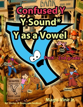 {AWESOME FREEBIE!} Confused Y (Lesson Plans & Free Song!)