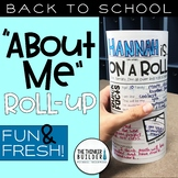 """About Me"" Roll-Up: Back to School Activity"