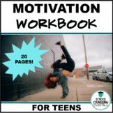 Motivation 20 Worksheets for Academic Improvement- Google Slides option